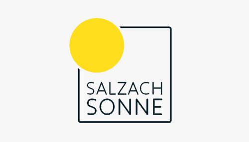 Salzach Sonne