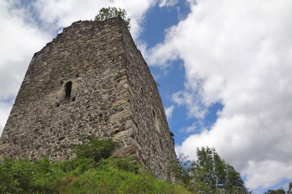 Video Mapping - Burg Ruine Weyer Bramberg
