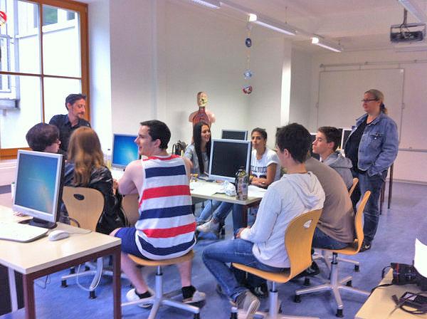 Torismusschule Bramberg das Team bei der Besprechung